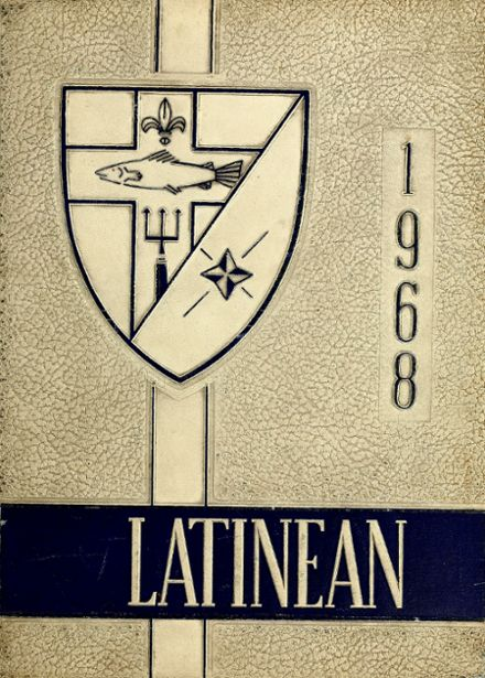 1968 Latin High School Yearbook Cover