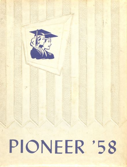 1958 North Whitfield High School Yearbook Cover