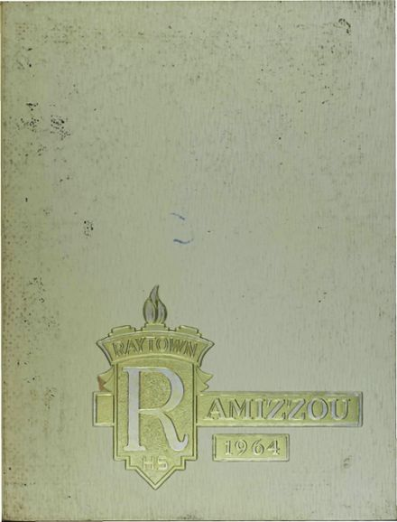 1964 Raytown High School Yearbook Cover