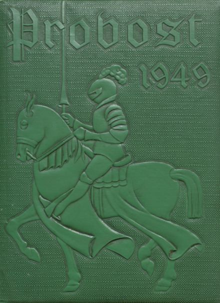 1949 Provo High School Yearbook Cover