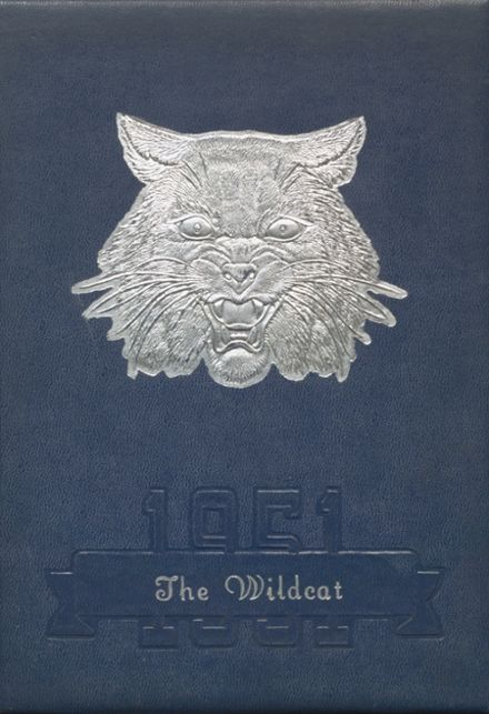 1951 Welch High School Yearbook Cover