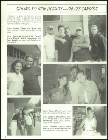1997 Pacifica High School Yearbook Page 6
