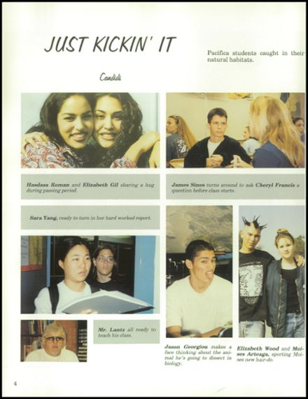 1997 Pacifica High School Yearbook Page 8