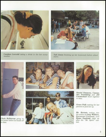 1997 Pacifica High School Yearbook Page 9