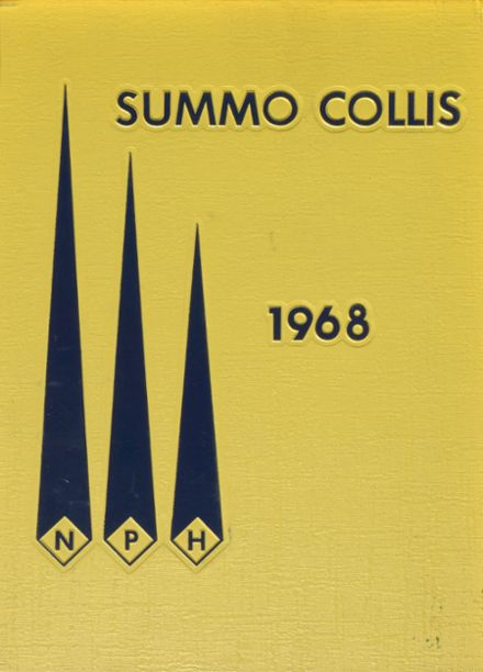 1968 North Providence High School Yearbook Cover