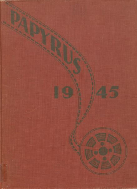 1945 Kaukauna High School Yearbook Cover