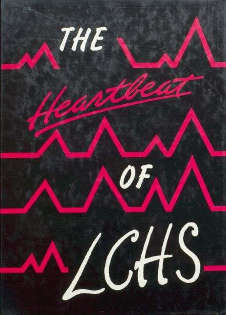 1987 Le Mars Community High School Yearbook Cover