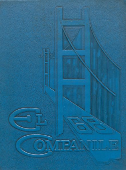 1968 Compton High School Yearbook Cover