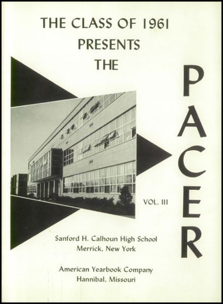 1961 Sanford H. Calhoun High School Yearbook Page 5