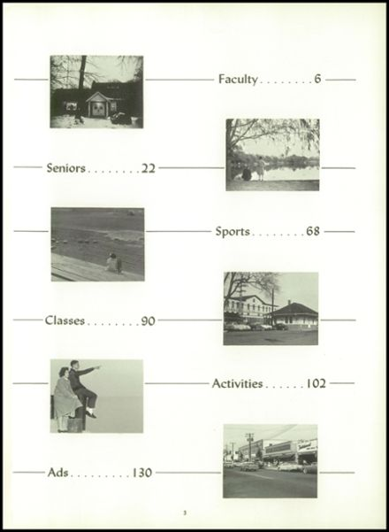 1961 Sanford H. Calhoun High School Yearbook Page 9
