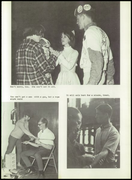 1967 Lake Crystal High School Yearbook Page 9