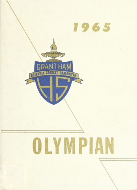 1965 Grantham High School Yearbook Cover