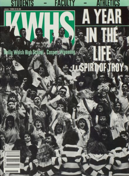 1988 Kelly Walsh High School Yearbook Cover
