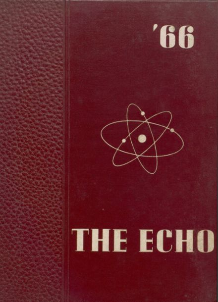 1966 Bland High School Yearbook Cover
