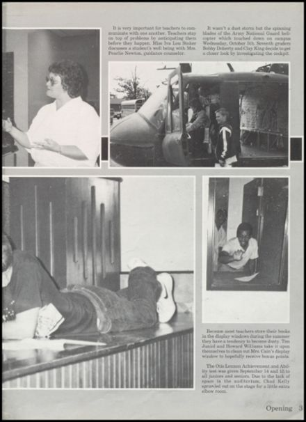 1989 Bearden High School Yearbook Page 7