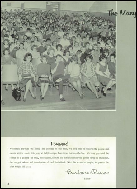1965 St. Marys High School Yearbook Page 6