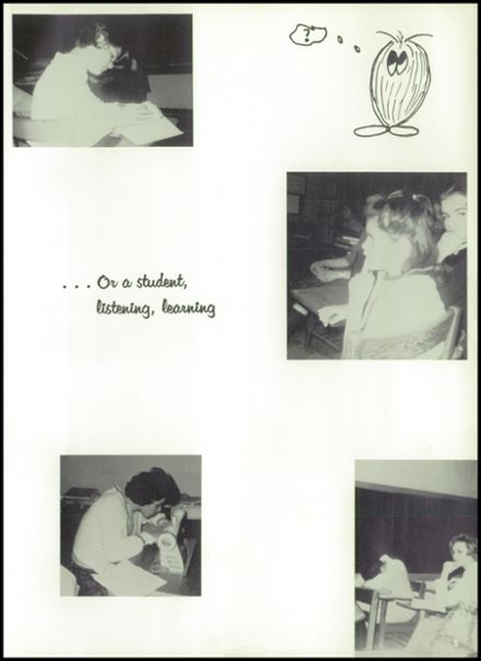 1965 St. Marys High School Yearbook Page 9