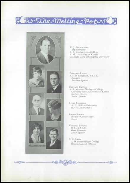 1926 Marion High School Yearbook Page 8