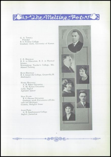 1926 Marion High School Yearbook Page 9