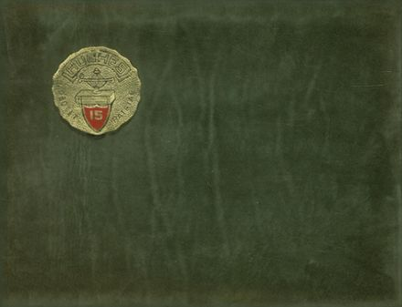 1915 Hughes High School Yearbook Cover
