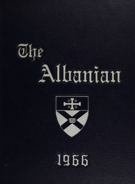 1966 St. Albans High School Yearbook Cover