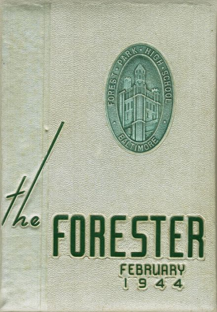 1944 Forest Park High School 406 Yearbook Cover