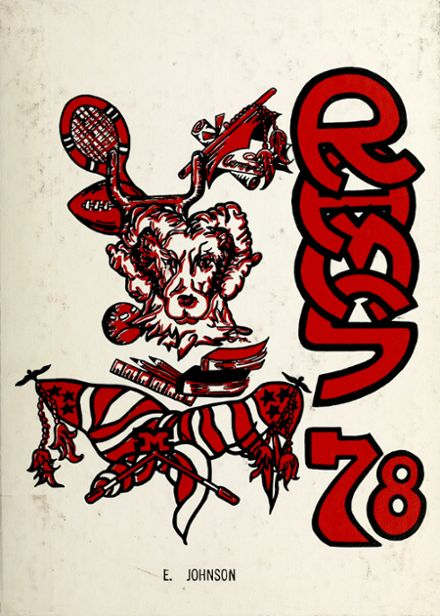 1978 Montrose High School Yearbook Cover
