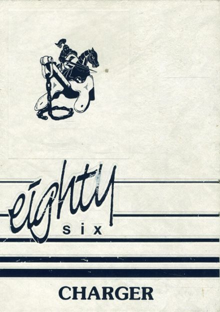 1986 Lackey High School Yearbook Cover