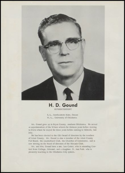 1964 Stilwell High School Yearbook Page 7