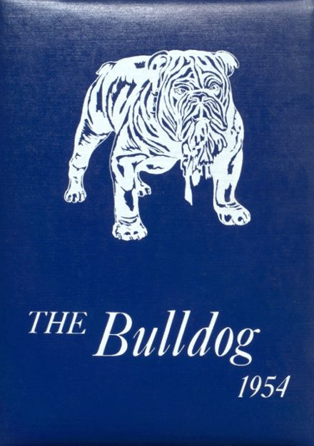 1954 Bratton Union Consolidat High School Yearbook Cover