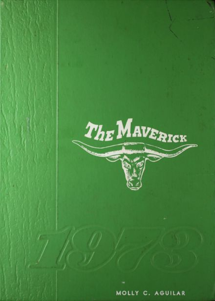 1973 Pearsall High School Yearbook Cover