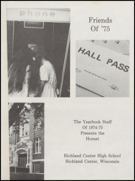 1975 Richland Center High School Yearbook Page 5