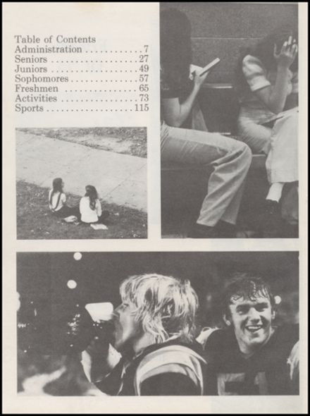 1975 Richland Center High School Yearbook Page 6