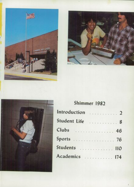 1982 Schaumburg High School Yearbook Page 5