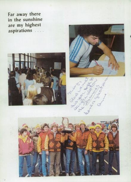 1982 Schaumburg High School Yearbook Page 6