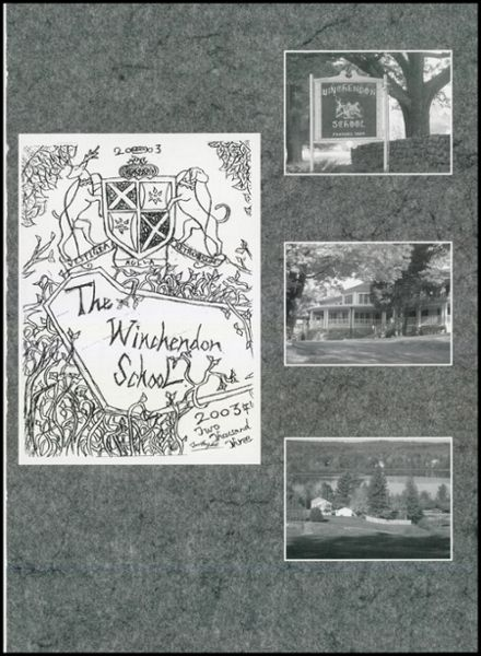 2003 Winchendon School Yearbook Page 5