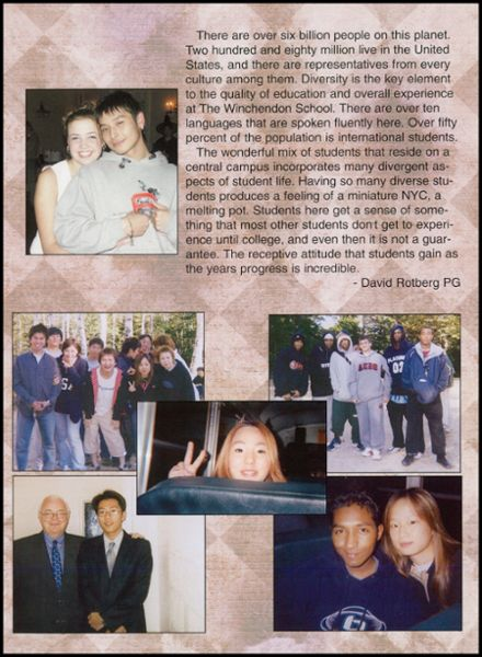 2003 Winchendon School Yearbook Page 7