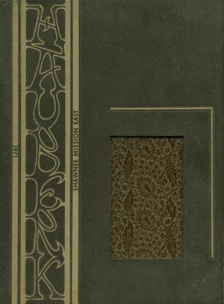 1971 Shawnee Mission East High School Yearbook Cover