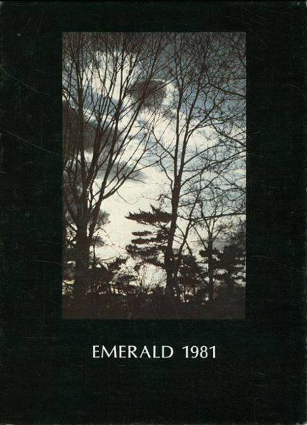 1981 Red Bank Catholic High School Yearbook Cover