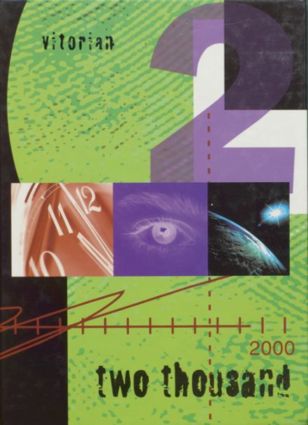 2000 V.I.T. High School Yearbook Cover