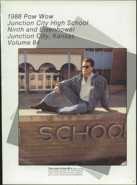 1988 Junction City High School Yearbook Page 5