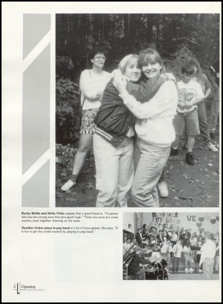 1995 Rib Lake High School Yearbook Page 6