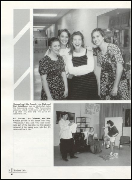 1995 Rib Lake High School Yearbook Page 8