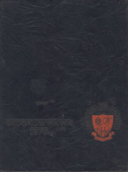 1970 Centralia High School Yearbook Cover