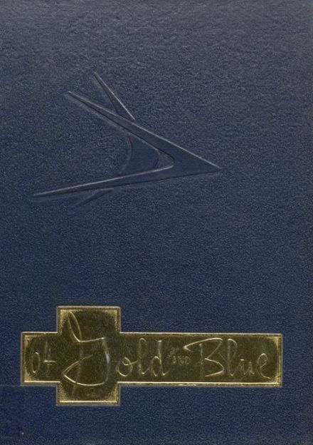 1964 Mitchell High School Yearbook Cover