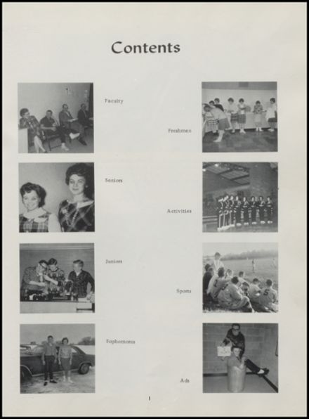 1965 Rib Lake High School Yearbook Page 5