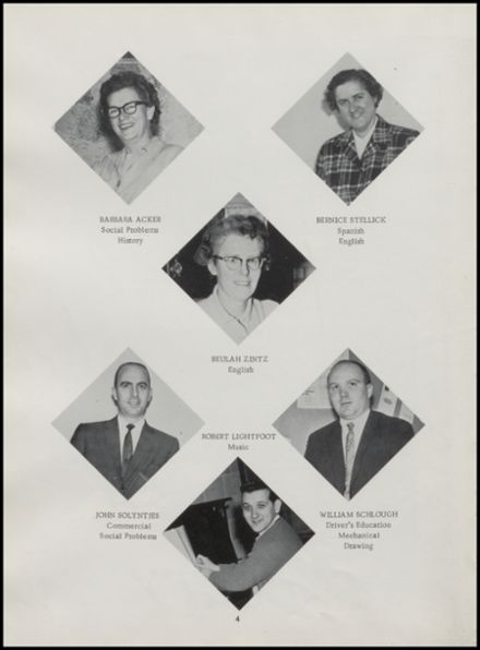 1965 Rib Lake High School Yearbook Page 8