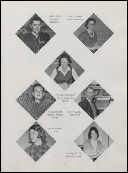1965 Rib Lake High School Yearbook Page 9