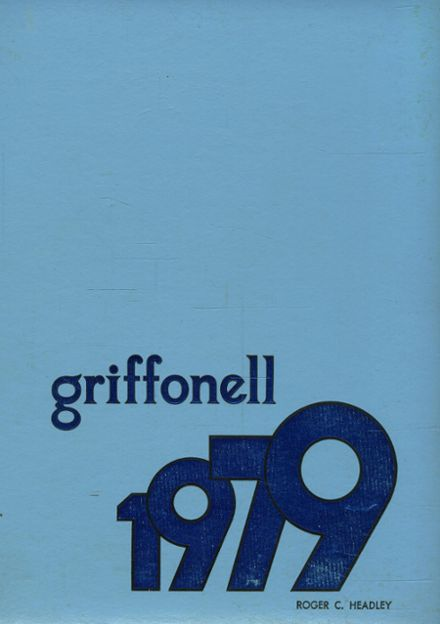 1979 Griffith Institute High School Yearbook Cover