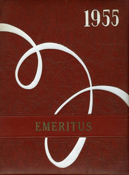 1955 Emery High School Yearbook Cover